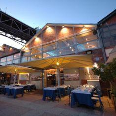 5 Oceans restaurant in Lisbon. Great Fish.