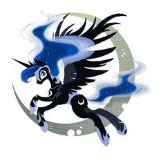 Luna Pony by ~Manden on deviantART