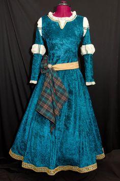 Princess MERIDA Custom Made ADULT Costume by mom2rtk on Etsy