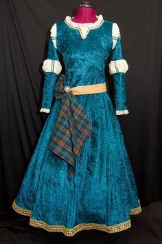 Princess MERIDA Custom Made ADULT Costume via Etsy