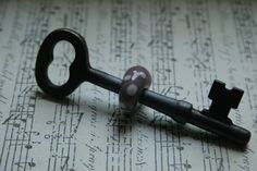 two of my favorite things-skeleton keys and music =]