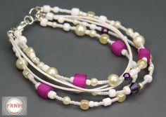 mehrreihiges Armband Nr. 1 JuniStrand  von TANBI-accessories:  Schmuckstücke für Kids und Erwachsene auf DaWanda.com