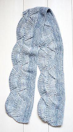 Camilla Shawl by Carrie Bostick Hoge by rin2 | malabrigo Worsted in Polar Morn