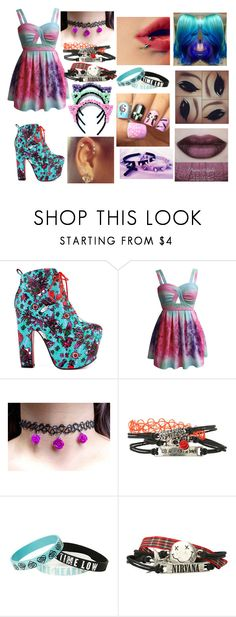 """""""Pastel Goth"""" by emoney1218 ❤ liked on Polyvore featuring Iron Fist and She's So"""