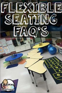 Flexible Seating - great ideas to get students learning in a new environment