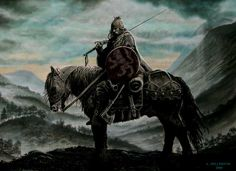 William Wallace – Shadow Warrior In the early summer of 1297, William Wallace led a force of Scottish patriots north to defeat a numerically superior war band of Irish mercenaries loyal to the English king. Here he contemplates tactics at the Pass of Brander, near Loch Awe.