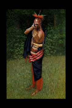 The Frontier Partisan Art of Steve White - Frontier Partisans - Caught In My Sights. Native American Hair, Native American Warrior, Native American Pictures, Indian Pictures, American Indian Art, Native American History, Native American Fashion, American Indians, Steve White