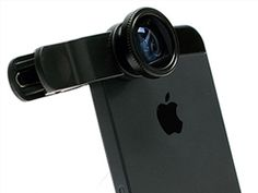 The fisheye lens that can be used on almost all mobile phones