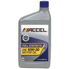 Accel 627016PK SAE 10W30 Full Synthetic Motor Oil  1 Quart Bottle Pack of 6 *** You can find more details by visiting the affiliate link Amazon.com.