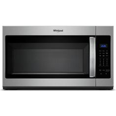 Whirlpool 30 in. W cu. Over the Range Microwave in Fingerprint Resistant Stainless Steel with Sensor Cooking Otr Microwave, Microwave Hood, Oven Hood, Four Micro Onde, Specialty Appliances, Kitchen Appliances, Clean Dishwasher