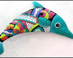 Metal Wall Hanging Green Dolphin 34 Painted by TropicAccents