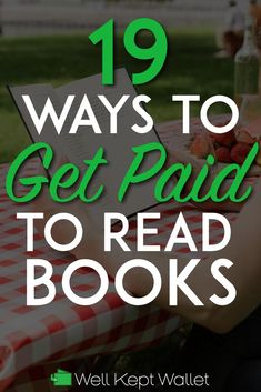 Get Paid to Read Books: 19 Legit Ways to Make Money Reading Do you like to read? Do you want to earn money? If so, you might be able to find some side hustle gigs that pay you to do what you love: get paid to read books. Earn Money From Home, Way To Make Money, Make Money Online, Best Books To Read, Good Books, Book Sites, Lus, Online Jobs, Book Publishing