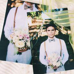 Foto das fotos ♥ Rodrigo com seu look noivo para as fotos de pós casamento. Fotografamos em Itapina - ES.  Ver esta foto do Instagram de @karyduarte • 96 curtidas