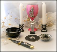Star Goddess Altar Set