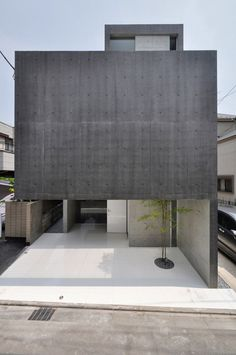 """""""house in kaijin"""" in funabashi, Japan by fuse-atelier"""