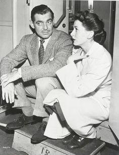Clark Gable and Deborah Kerr