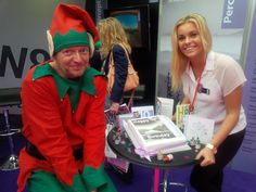 Meet Stuart, the Perception Birthday Elf, and take a #BirthdayElfie selfie to celebrate Perception's 10th birthday!   Tweet @PerceptionSales and @officeshow with your Elfie using #Perception10 and have the chance to win some very special VIP prizes...