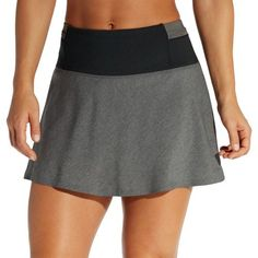 Calia by Carrie Underwood Women's Anywhere Heather Flounce Skort, Size: XS, Black Calia By Carrie, Cute Boutiques, Flowy Skirt, Carrie Underwood, Mom Style, Skort, Mini Skirts, Fitness, Casual