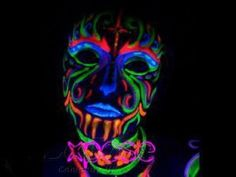 Glow In The Dark Body Paint -Let Your Light Shine Through!