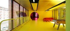 Sports and Leisure Center in Saint-Cloud,© Stephan Lucas
