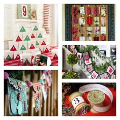 Make the countdown to Christmas fun with a handmade Advent calendar>> http://www.hgtv.com/handmade/countdown-to-christmas-10-creative-advent-calendar-ideas/pictures/index.html?soc=pinterest