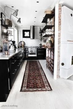 20 Ideias de Cozinhas Pretas | Design Innova