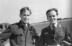 Svein Heglund and Rolf Arne Berg, 331 Squadron, North Weald Heglund and Berg became one of the top fighter pilots from Norway in Heglund survived the war, Berg was KIA in Feb Fighter Pilot, Fighter Jets, Strange History, Weird Stories, Military Service, Lofoten, Make You Smile, Ww2, Norway