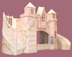 Castle Bunk Beds.... girl