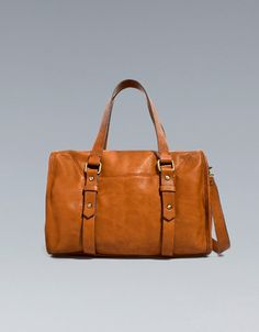 SOFT BOWLING BAG - Handbags - TRF - ZARA
