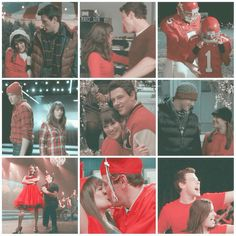 """""""Loving him was red❤️... _ Inspo creds: tumblr _ #glee#finchel#monchele"""""""