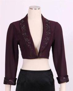 New S.L. Fashions Women's Cocktail Blouse Jacket Sz 10 $109 | eBay