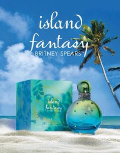 Britney  Spears Fantasy Island <3 :3 *smells like fresh white* flowers on the beach*