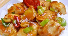 Pork, Food And Drink, Stuffed Peppers, Vegetables, Cooking, Ethnic Recipes, Sweet, Asia, Kale Stir Fry