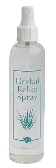 Herbal Relief Spray/ 8 oz    All natural pain reliever! This is the best product for my muscle aches and pains. I can't live without it!