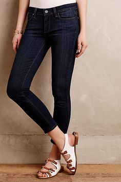 Paige Verdugo Cropped Jeans - anthropologie.com