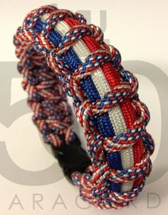 paracord bracelet for 4th of July