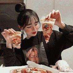 Orange Aesthetic, Korean Aesthetic, Aesthetic Girl, Aesthetic Anime, Pretty Korean Girls, Cute Korean Girl, Asian Girl, Cute Girl Pic, Cute Girls