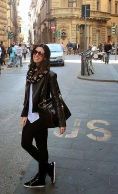 Looks Inspiração: Look: Camila Coutinho - Jaqueta de Couro