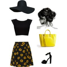 """sunny and summer"" by chantel-ross on Polyvore"