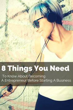 8 Things You Need To Know About Becoming A Entrepreneur | Alease Michelle