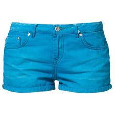 LTB JUDIE Denim shorts ($40) ❤ liked on Polyvore