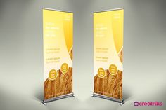 Agriculture Roll Up Banner - v010. Creative Business Card Templates. $2.00