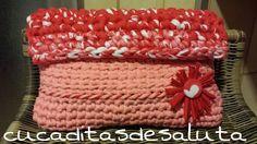 Bolso de Mano a trapillo, paso a paso, muy fácil de hacer, también para los que empiezan sus labores a crochet. Saludos y buen crochet.....¡¡¡¡¡