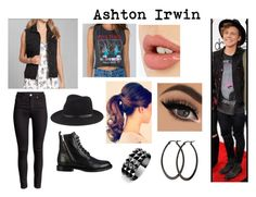 Ashton Irwin Inspired Billboard Outfit by marvelgirl160 on Polyvore