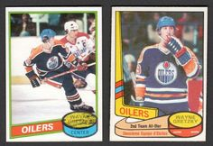 Up4auction - how about a few nice Wayne Gretzky 2nd year cards? #WayneGretzky #NHL #Collect