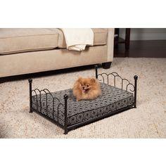 Found it at Wayfair - Sara Pet Bed Storing Blankets, Cool Dog Beds, Pet Beds, Fabric Patterns, Pet Supplies, Puppies, Pets, Animals, Decorative Metal