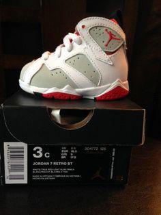 Air Jordan Retro 7 Hare Lola Bunny Toddler Size 3C #nike #Athletic