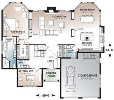 Florida Plan: 2,849 Square Feet, 3 Bedrooms, 2.5 Bathrooms - 034-00793 Florida House Plans, Florida Home, Double Patio Doors, Drummond House Plans, Large Laundry Rooms, Jack And Jill Bathroom, Bonus Rooms, Window Styles, Best House Plans