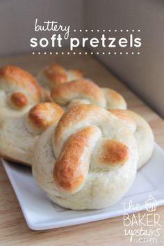 Soft pretzels.