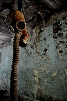 Chernobyl gas mask #urbex Abandoned & distressed places